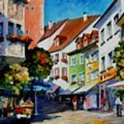 Sunny Meersburg - Germany Poster