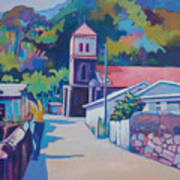 Sunny Soufriere Poster