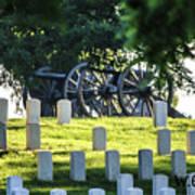 Sunrise At Gettysburg National Cemetery Poster