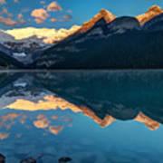 Sunrise At Lake Louise, Banff National Park, Alberta, Canada Poster
