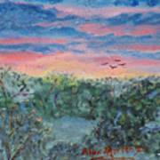 Sunrise At Quialigo Poster