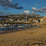 Sunrise At St Ives Poster
