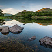 Sunrise at Ullswater, Lake District, North West England Poster