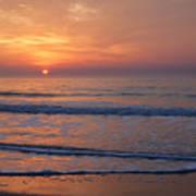 Sunrise Huntington Island State Park Poster