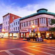 Sunrise In Annapolis Poster