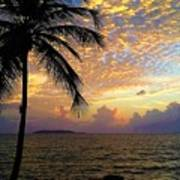 Sunrise In Fajardo, Puerto Rico Poster