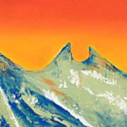 Sunrise La Silla Poster
