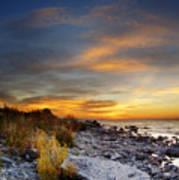 Sunrise On Mackinac Island Poster