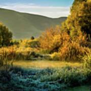Sunrise On The Duck Marsh Poster