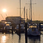 Sunrise On The Eastern Shore Of Maryland Poster