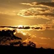 Sunrise Over Fort Salonga4 Poster