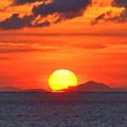 Sunrise Over Western Cuba Poster