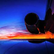 Sunrise Pre Flight Poster