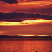 Sunrise Sekiu Washington Poster