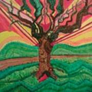 Sunrise Treeair Poster
