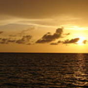 Sunset - Gulf Of Mexico Poster