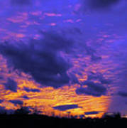 Sunset After Storm Poster