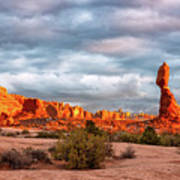 Sunset At Arches National Park 16x9 Poster