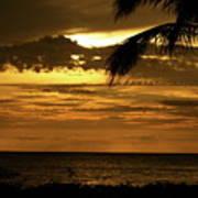 Sunset At Ko'olina Poster