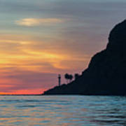 Sunset At Point Loma Poster