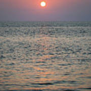 Sunset Beach Cape May New Jersey Poster
