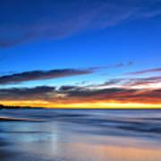 Sunset Blue Poster