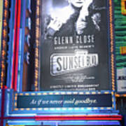 Sunset Boulevard On Broadway Poster