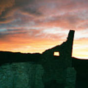 Sunset Chaco Canyon Poster
