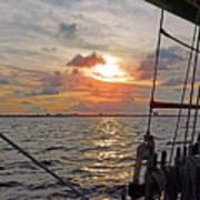 Sunset Cruise Poster