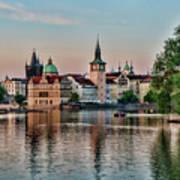 Sunset Cruise Prague Poster