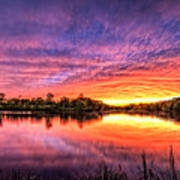 Sunset Culpeper Va Poster