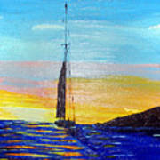 Sunset D2 Poster