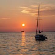 Sunset Dreams - Florida Poster