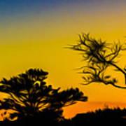 Sunset Fantasy Poster