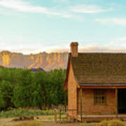 Sunset Grafton Ghost Town Poster
