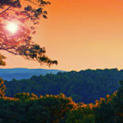 Sunset Hills Poster