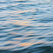 Sunset Hudson River Poster