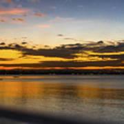 Sunset In Dar Poster
