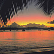Sunset In Key West Florida Poster