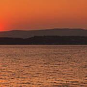Sunset In Lassi Poster