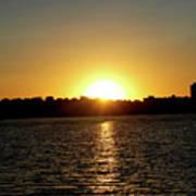 Sunset In Minneapolis Poster