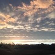 Sunset In November  Poster