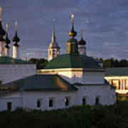 Sunset In Suzdal Poster