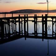 Sunset Magic Bodega Bay California Poster