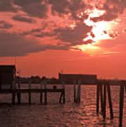 Sunset Newport Rhode Island Poster