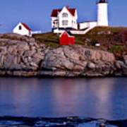 Sunset Nubble Poster
