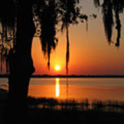Sunset On Lake Minneola Poster