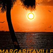 Sunset On Margaritaville Poster