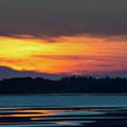 Sunset On Pei Poster