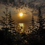 Sunrise Over Lake Huron Poster